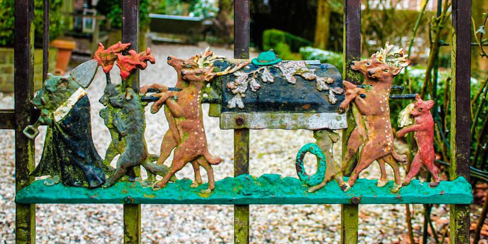 Een tuinhek voor Gustav Mahler