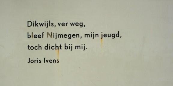 Poëzie, Joris Ivens, Nijmegen