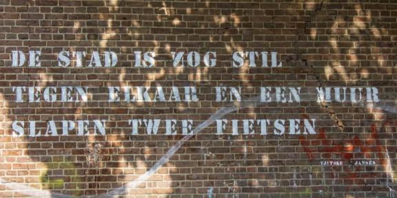 Tjitske Jansen, gedicht, Nijmegen