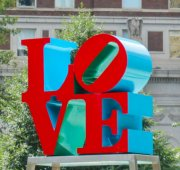 Robert Indiana, Love, Philadelphia