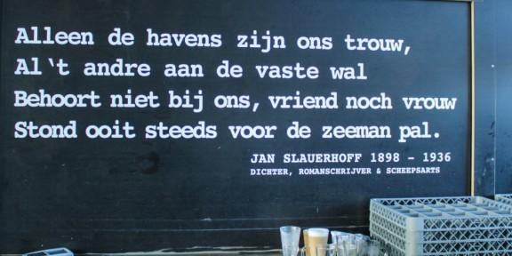 Poëzie, Jan Slauerhoff, Amsterdam