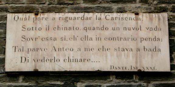 Poëzie, Dante Bologna, Divina Commedia