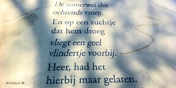 Poëzie, Vasalis, Den Bosch