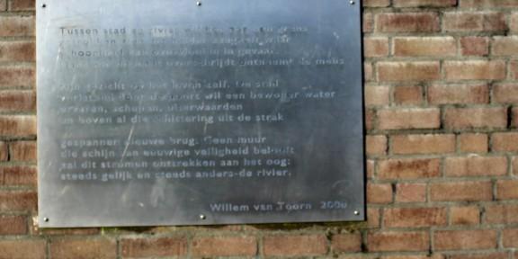 Poëzie, Willem van Toorn, Zaltbommel