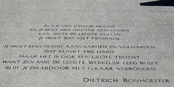 Poëzie, Dietrich Bonhoeffer, Hoenderloo