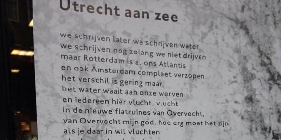 Poëzie, Nanne Nauta, Utrecht