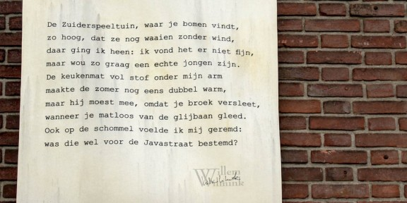 Poëzie, Willem Wilmink, Enschede