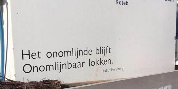 Poëzie, Judith Herzberg, Rotterdam