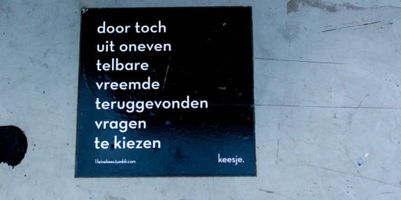 Poëzie, Keesje, Nijmegen