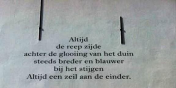 Poëzie, Anneke Schenk, Middelburg
