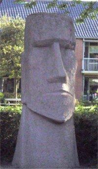 Peter de Jong, Paaseilandbeeld, Middelburg