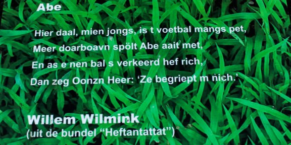 Poëzie, Hengelo, Willim Wilmink