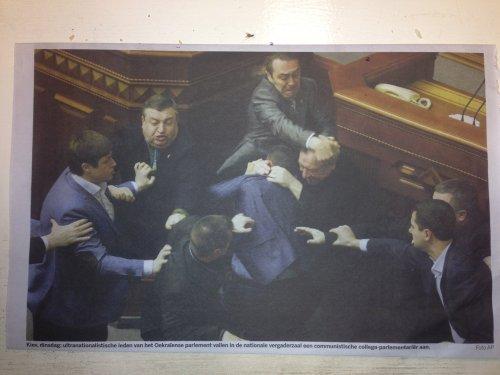 Oekraiens parlement - Barok