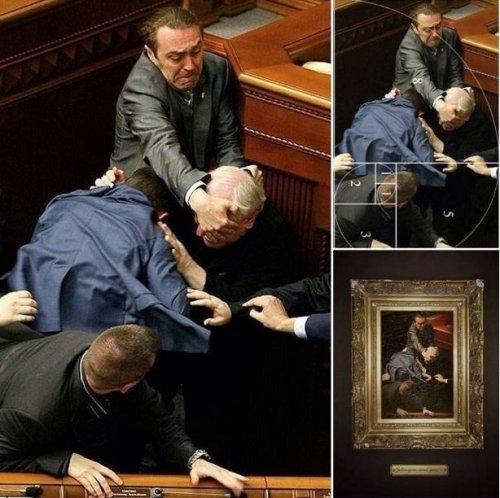Oekraiens parlement - Caravaggio
