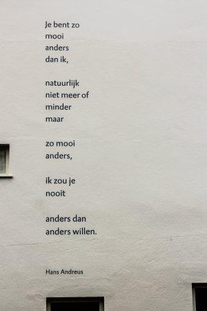 poëzie, gedicht, Hans Andreus, Den Haag, Laan Copes van Cattenburch, Surinamestraat, Archipelpoëzie