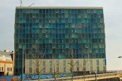 Castellatoren, Nijmegen, Dobbelman, voorgevel