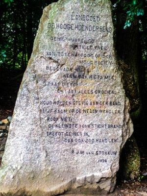 Poëzie, gedicht, P.J.M. van Stollum, landgoed,Hooge Hoenderberg, Nijmegen, Groesbeek