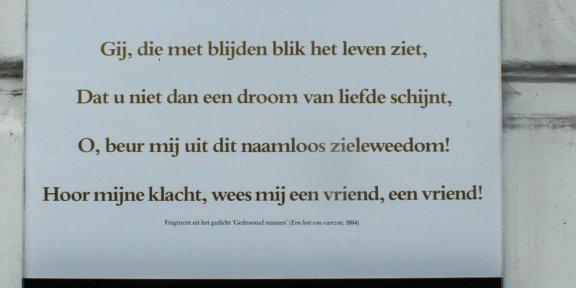 poëzie, gedicht, Louis Couperus, Den Haag, Nassauplein
