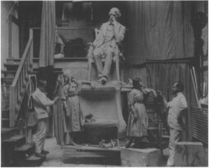 Frank Edwin Elwell, Dickens en Little Nell, Philadelphia