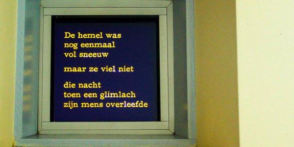 Nijmegen, Lux, Jaap Robben, Mario van de Geijn, poëzie, gedicht