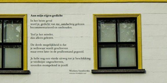 poëzie, gedicht, Wislawa Szymborska, Breda