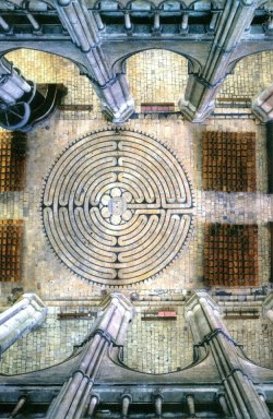 labyrint, Chartres