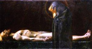 Pietà, Franz von Stuck