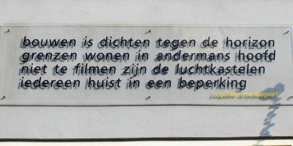 poëzie, gedicht, Jacqueline Uittenbogaart, Dordrecht, Augustijnenkamp