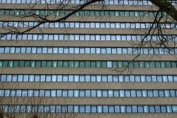 Erasmusgebouw verdiepingen