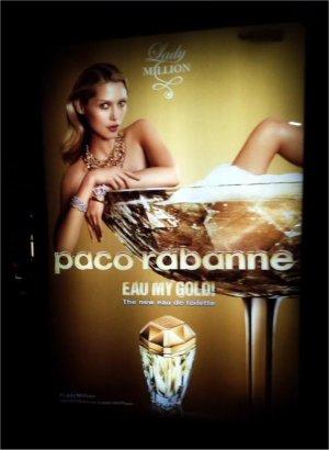 Paco Rabanne's Lady Million (foto met toestemming van Anja van Kessel)