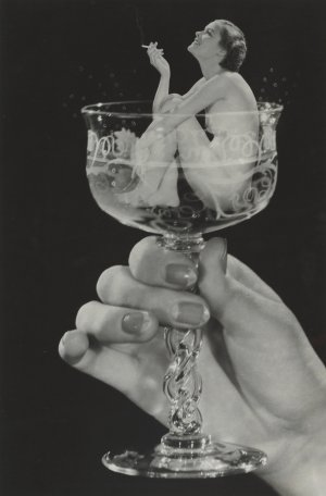 Howard S. Redell, Woman in a cocktail glass