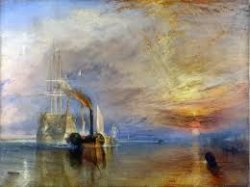 Turners schilderij The fighting Temeraire
