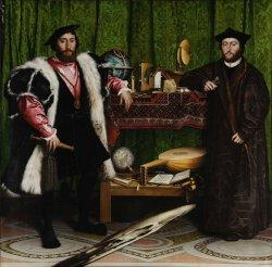 Hans Holbein de Jonge, De ambassadeurs, National Gallery, Londen, 1533