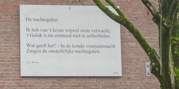 Poëzie, J.C. Bloem, Nunspeet