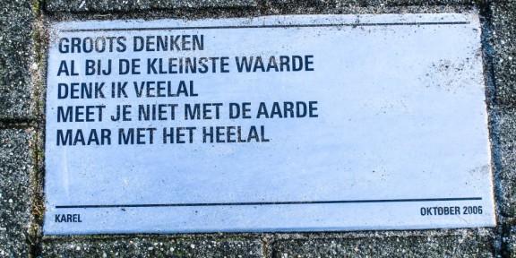 Poëzie, Karel, Den Haag