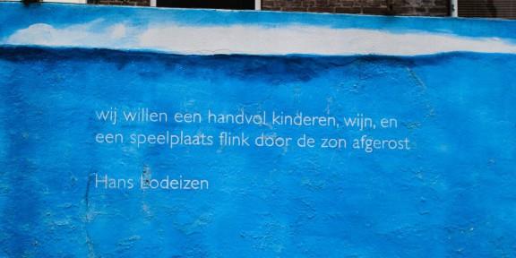Poëzie, Hans Lodeizen, Nijmegen