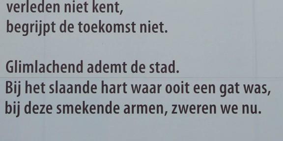 stadsgedicht, Jana Beranová, Rotterdam