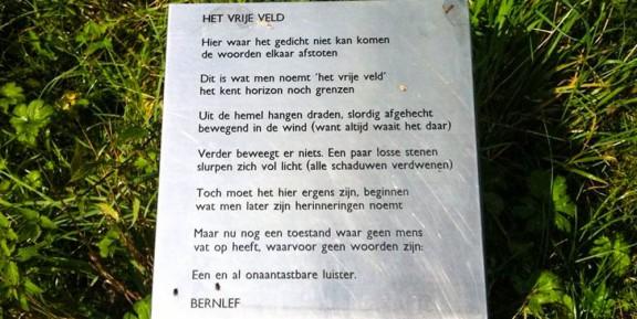 Gedicht, Bernlef, Geuldal