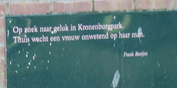 Kronenburgerpark, Frank Boeijen, Nijmegen