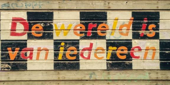 Thé lau, Nijmegen, Iedereen is van de wereld