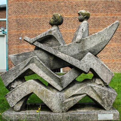 Ed van Teeseling, Roeiende jongens, Nijmegen