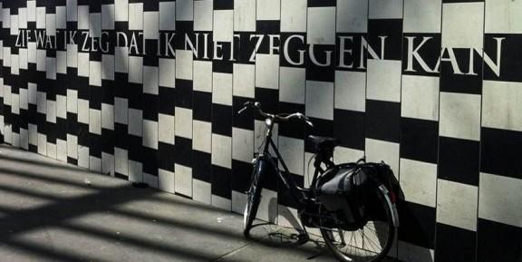 Joke van Leeuwen, stottergedicht, Antwerpen