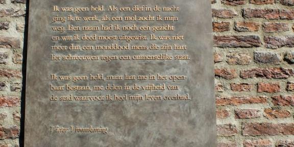 Victor Vroomkoning, Nijmegen, gedicht, verzet