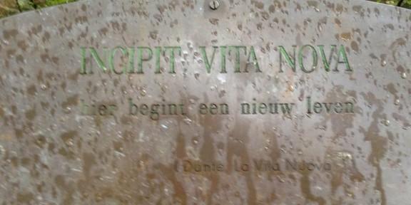 La Vita Nuova, Dante Alighieri, Pater Blommaertlaan, Nijmegen