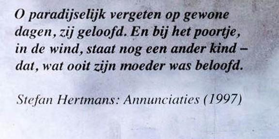 Stefan Hertmans, Gent, Sint Pietersnieuwstraat