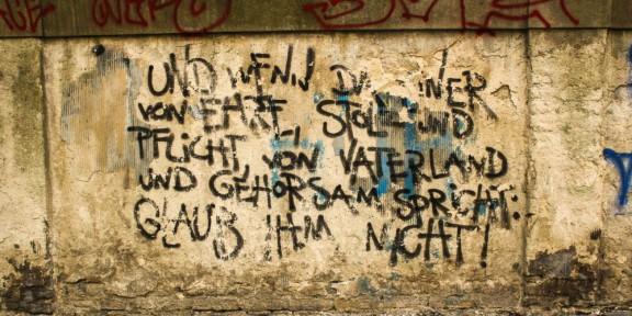 Poëzie, Reinhard May, Berlijn