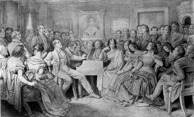 Moritz von Schwind, Schubertabend, Schubertiade