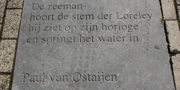 Zelfmoord des zeemans, Paul van Ostaijen, schouwburg, Tilburg