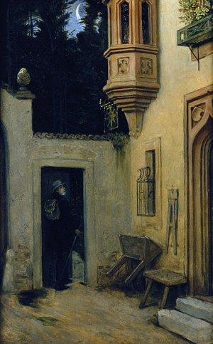 Moritz von Schwind, Abschied im Morgengrauen, Alte Nationalgalerie, Berlin