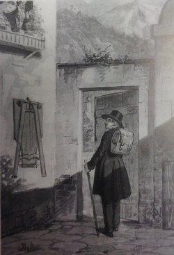 Moritz von Schwind, Abschied im Morgengrauen